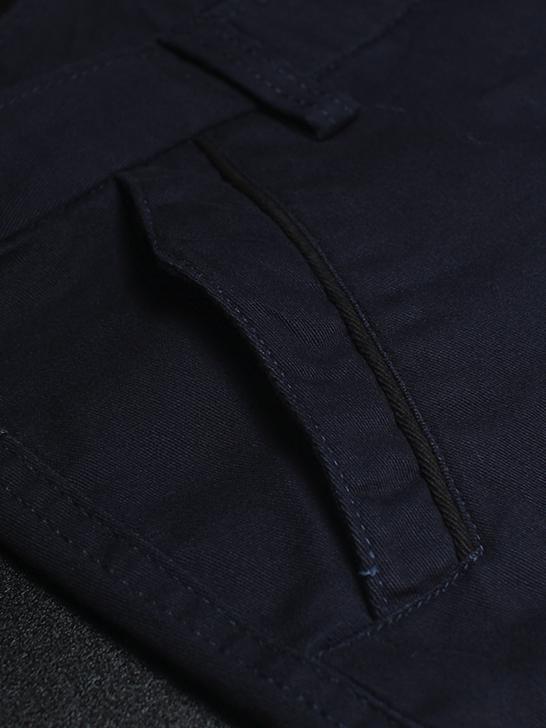 Quần kaki hàn quốc xanh đen qk138 - 3