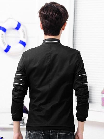 Áo khoác kaki đen ak140 - 2