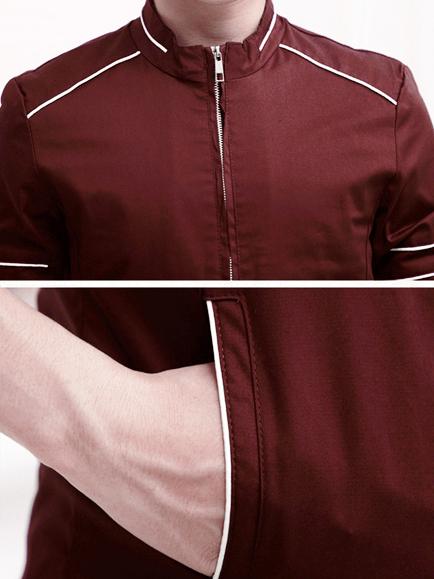 Áo khoác kaki đỏ đô ak140 - 2