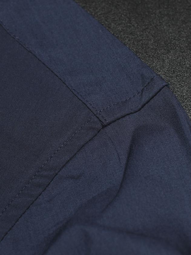 Áo sơ mi hàn quốc xanh đen asm709 - 3
