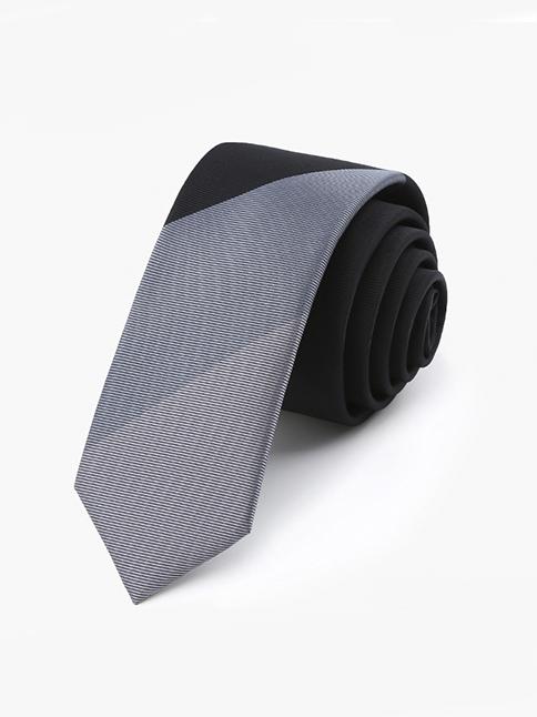 Cà vạt hàn quốc đen cv37 - 1