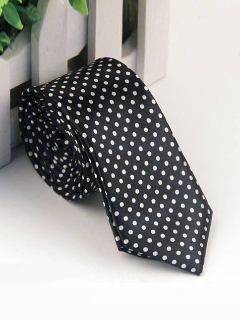 Cà vạt hàn quốc đen cv69 - 1
