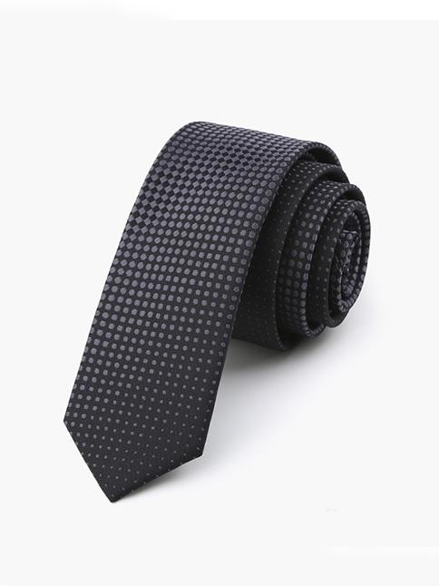 Cà vạt hàn quốc đen cv73 - 1
