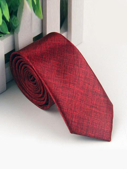 Cà Vạt Hàn Quốc Đỏ CV66