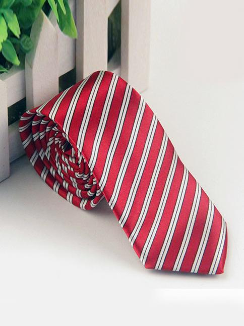 Cà vạt hàn quốc đỏ cv68 - 1