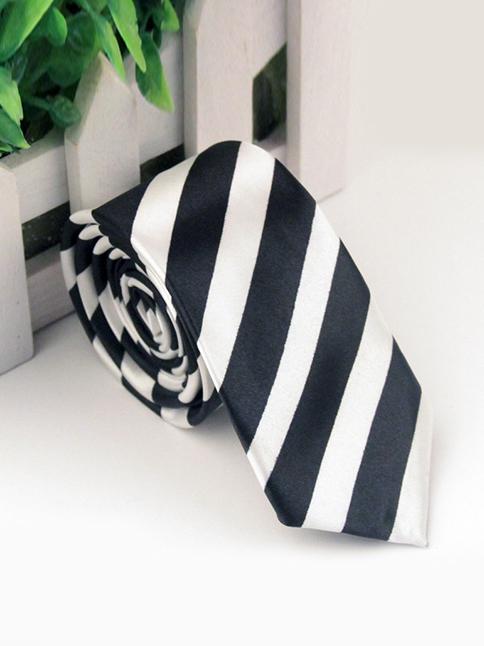 Cà vạt hàn quốc sọc cv70 - 1