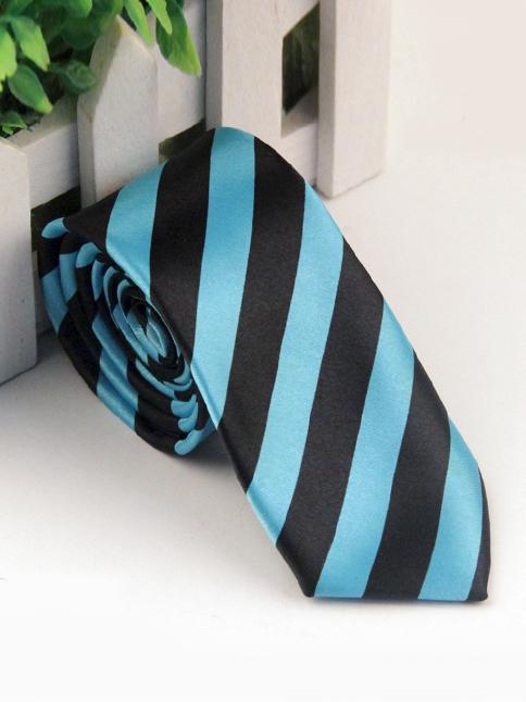 Cà vạt hàn quốc sọc xanh cv65 - 1