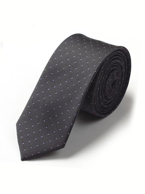 Cà vạt hàn quốc xám cv40 - 1