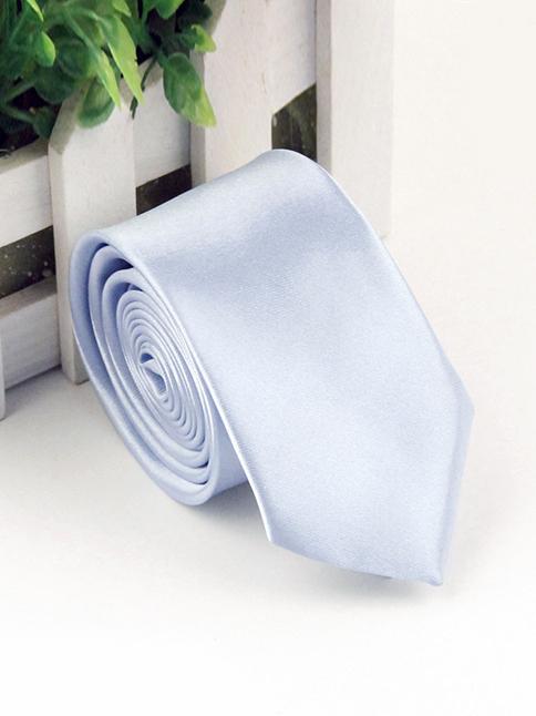 Cà vạt hàn quốc xanh da trời nhạt cv72 - 1