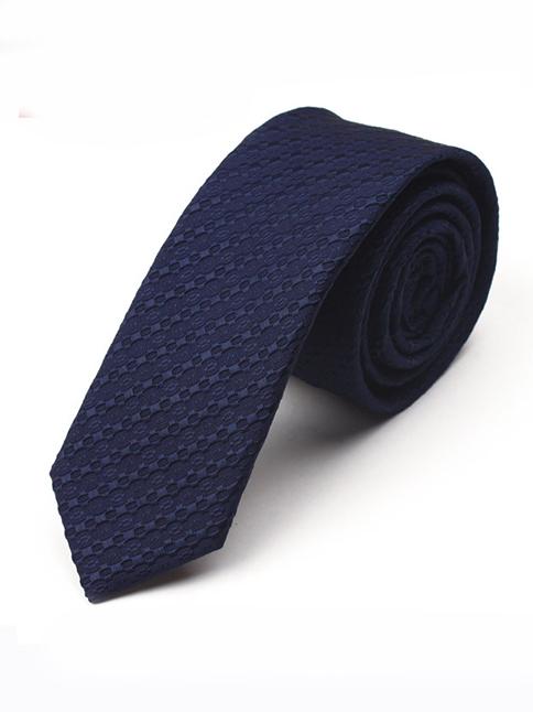 Cà vạt hàn quốc xanh đen cv28 - 1