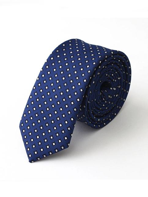 Cà vạt hàn quốc xanh đen cv36 - 1