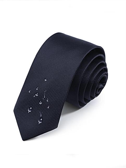 Cà vạt hàn quốc xanh đen cv58 - 1