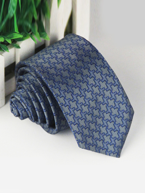 Cà vạt hàn quốc xanh dương cv61 - 1