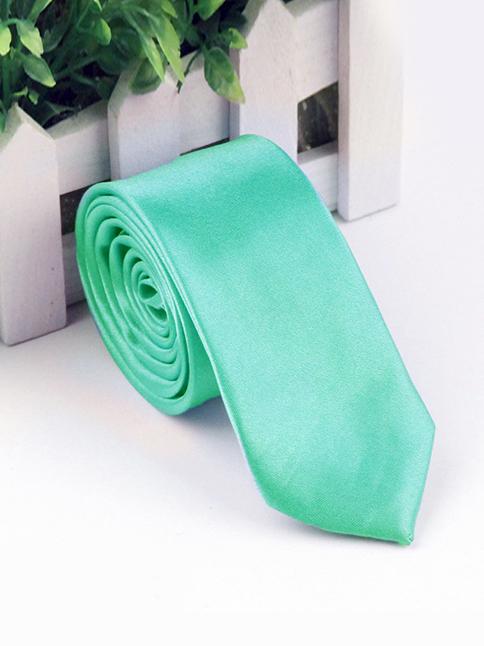 Cà vạt hàn quốc xanh ngọc cv72 - 1