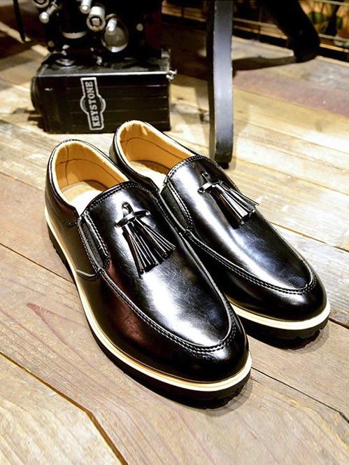 Giày Da Thời Trang Đen G14