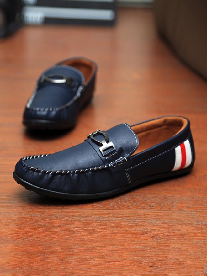 Giày mọi xanh đen g06 - 1