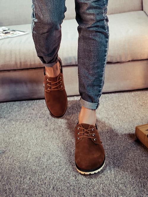 Giày Thời Trang Màu Bò G13