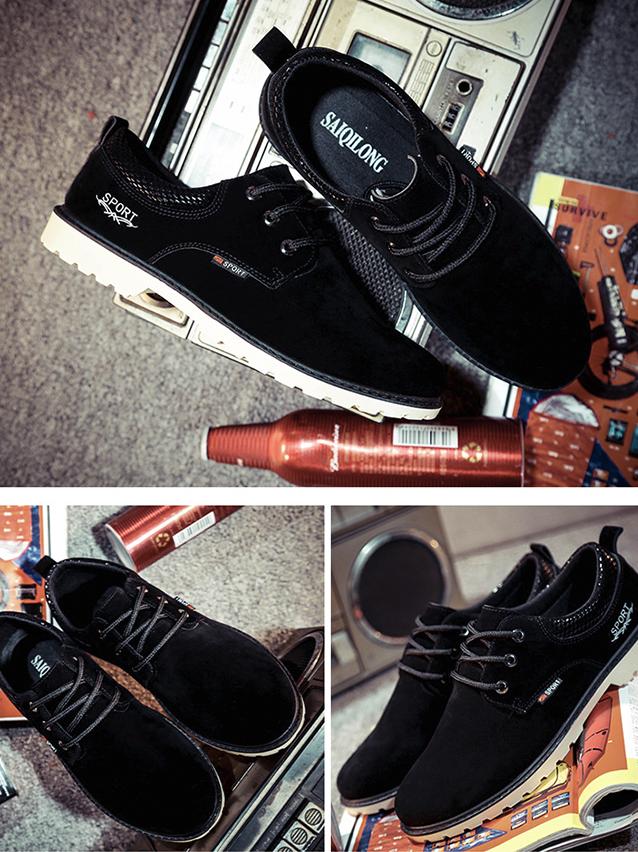 Giày Thời Trang Đen G13