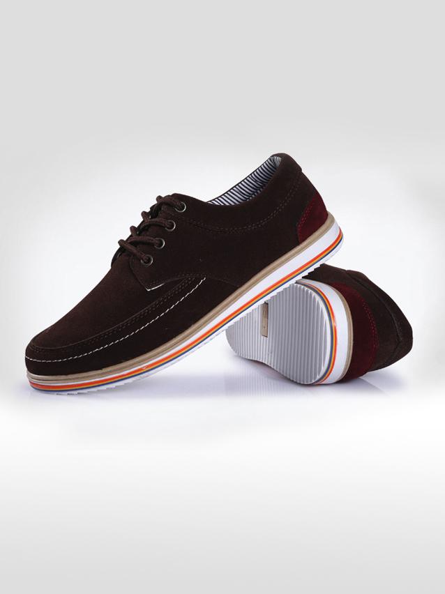 Giày thời trang nâu g17 - 1