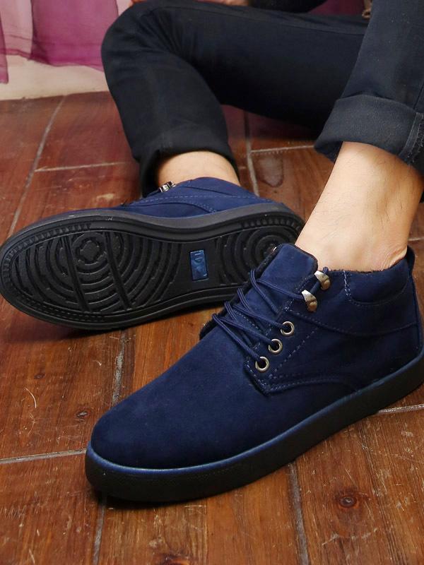 Giày Thời Trang Xanh Đen G03