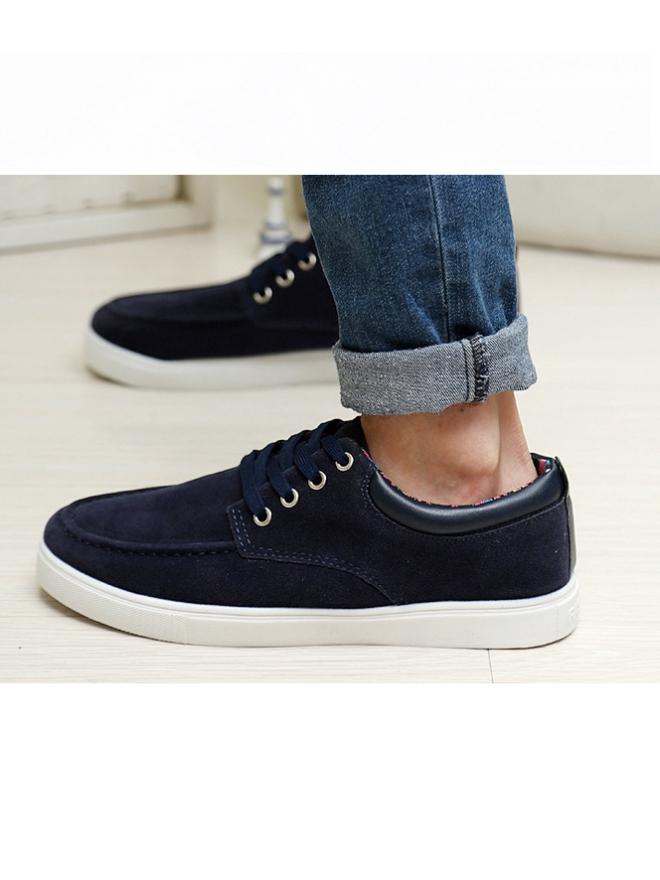 Giày Thời Trang Xanh Đen G05