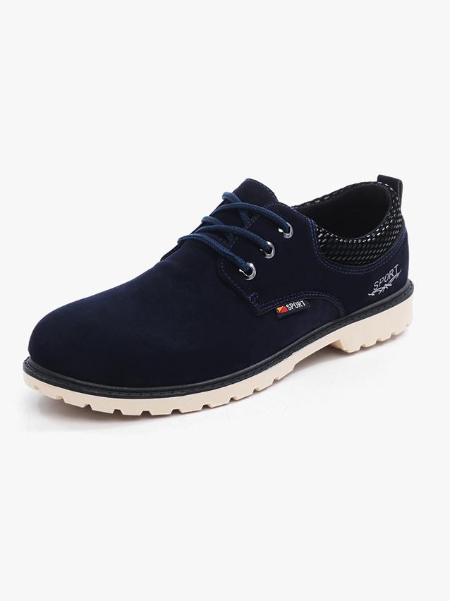 Giày Thời Trang Xanh Đen G13