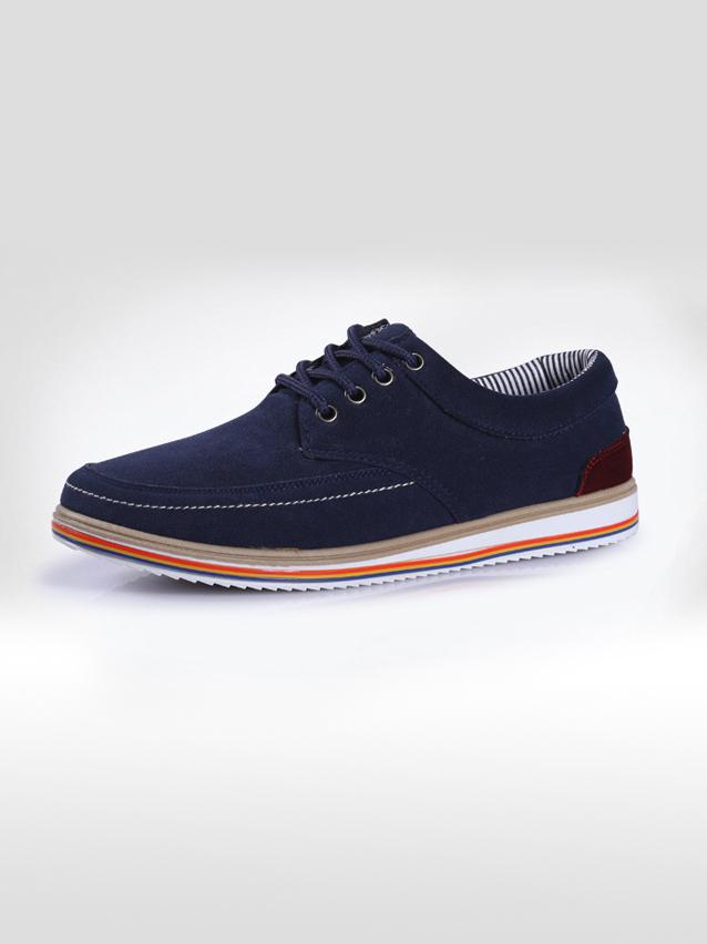 Giày Thời Trang Xanh Đen G17