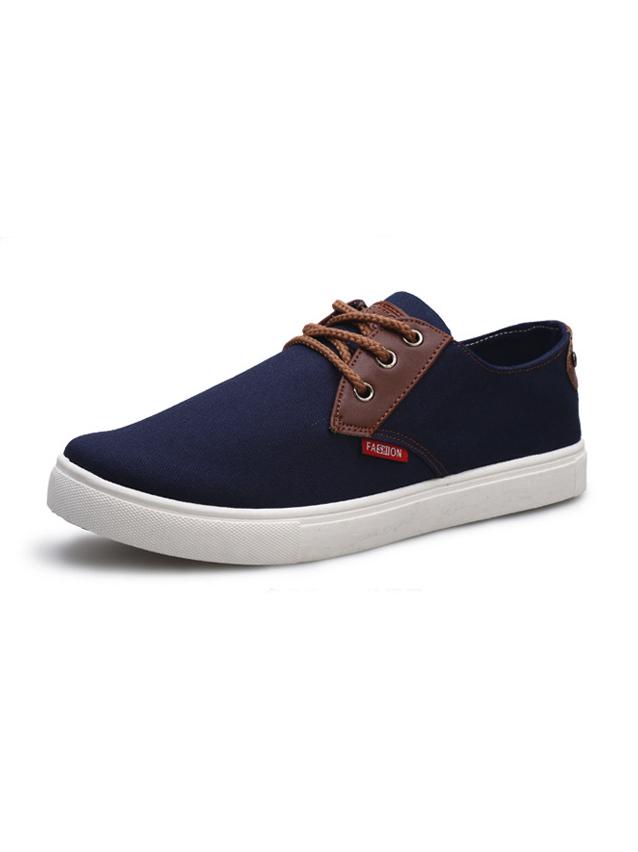Giày thời trang xanh đen g18 - 1