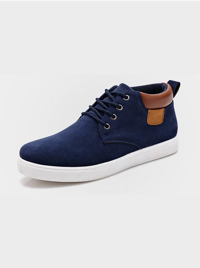 Giày thời trang xanh đen g19 - 1