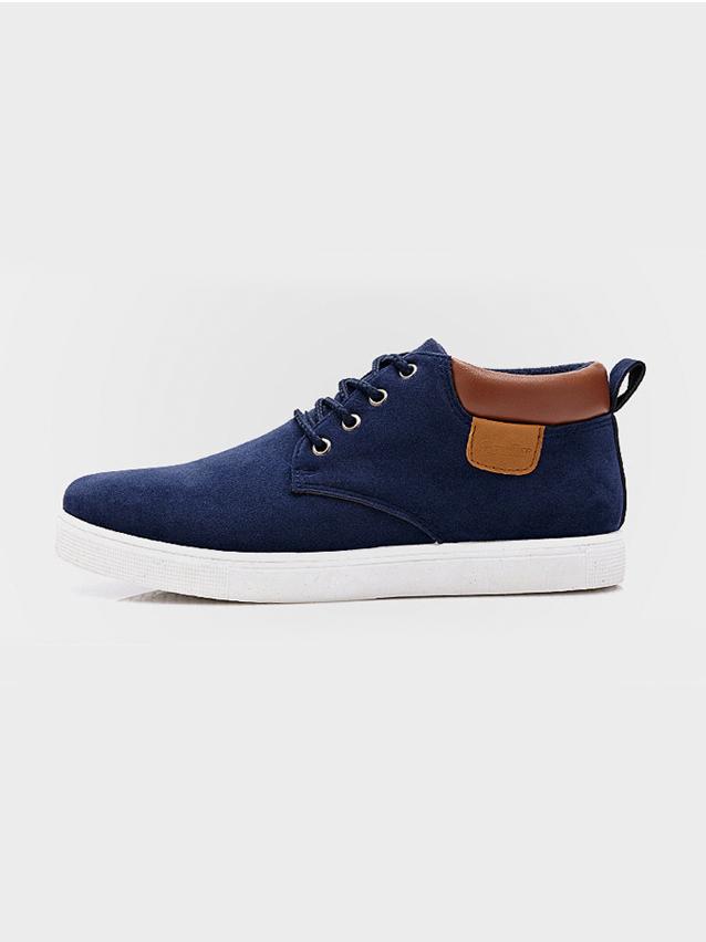 Giày Thời Trang Xanh Đen G19