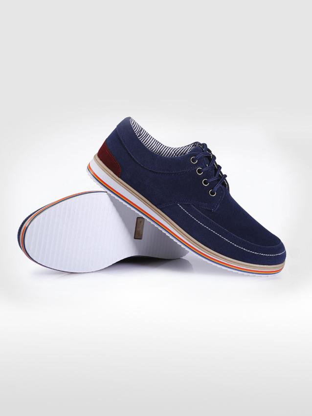 Giày thời trang xanh dương g17 - 1