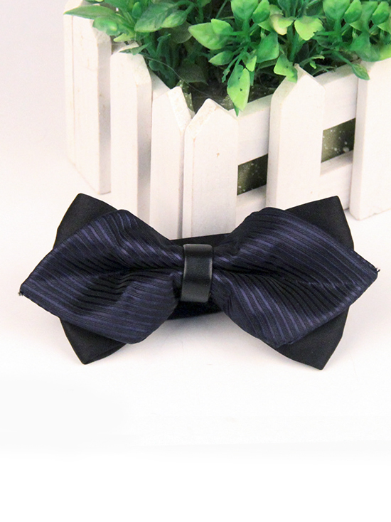 Nơ đeo cổ xanh đen no50 - 1