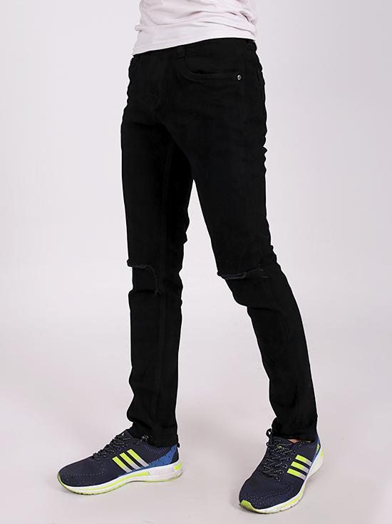 Quần jean rách đen qj1258 - 2
