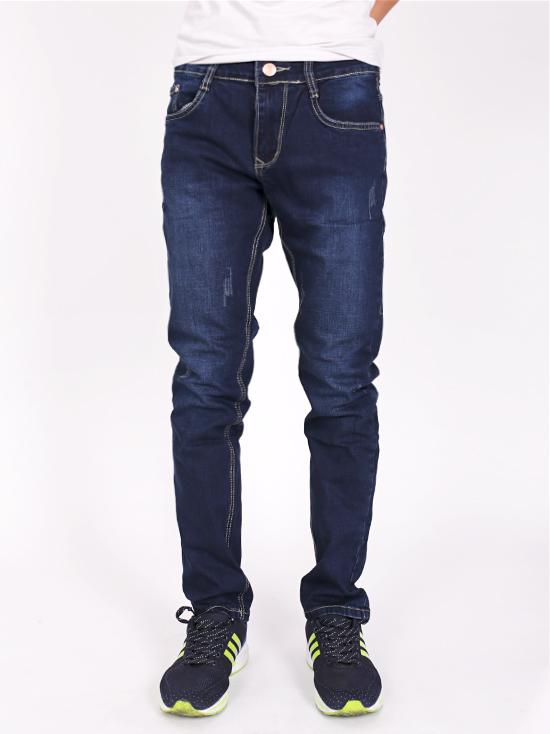Quần jean rách xanh đen qj1239 - 1