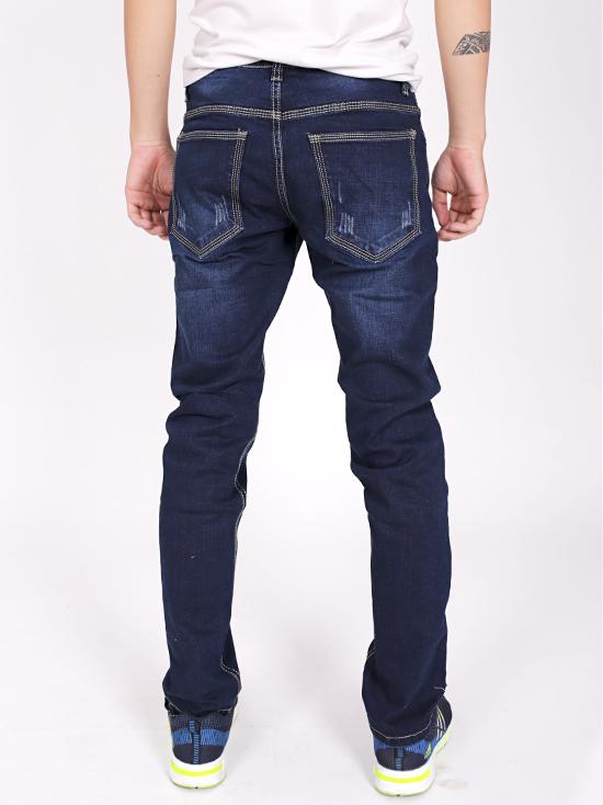 Quần jean rách xanh đen qj1239 - 2
