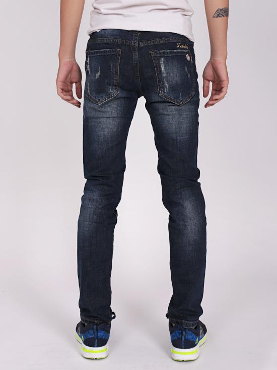 Quần jean rách xanh đen qj1267 - 2