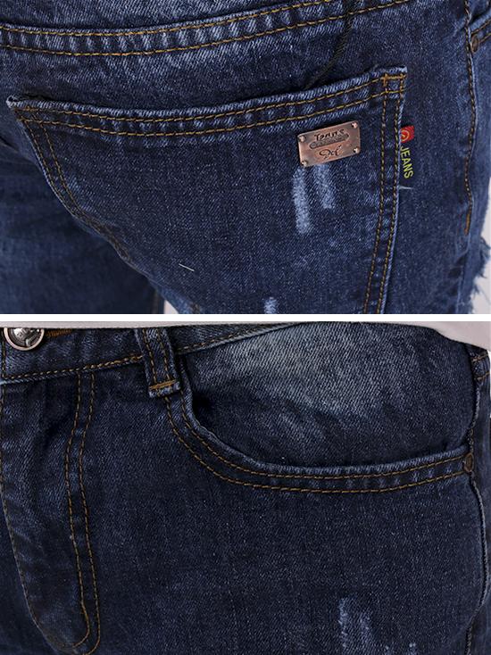 Quần jean rách xanh đen qj1270 - 3