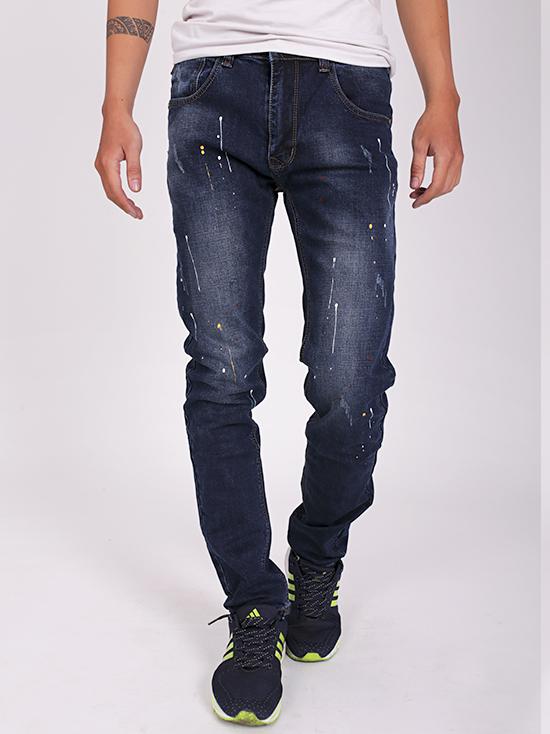 Quần jean rách xanh đen qj1271 - 1