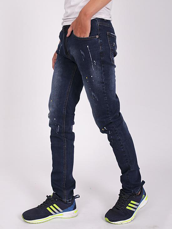 Quần jean rách xanh đen qj1271 - 2