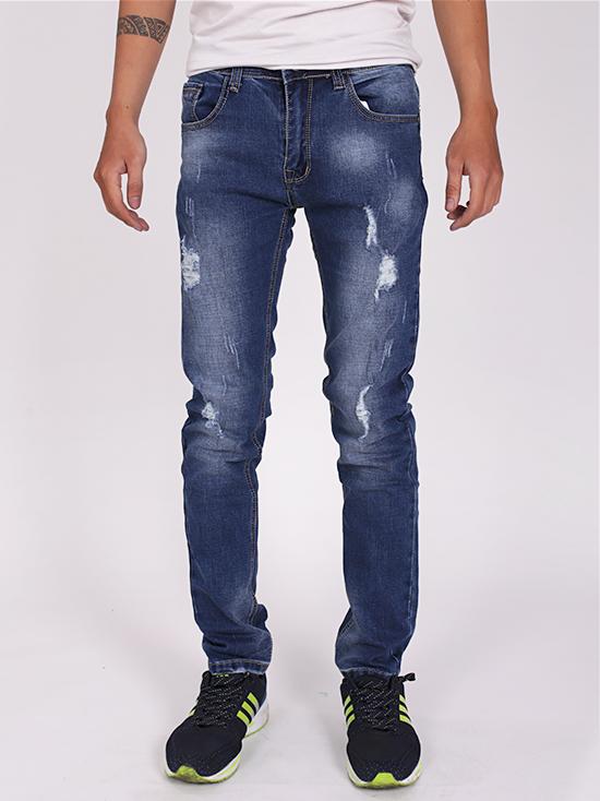 Quần jean rách xanh đen qj1275 - 1