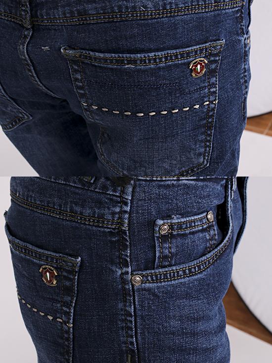Quần jean skinny xanh đen qj1256 - 3