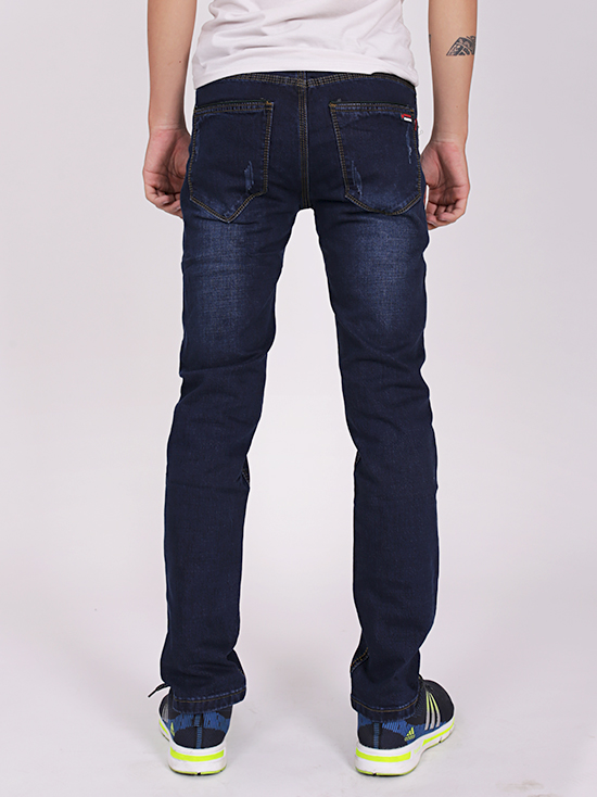 Quần jean skinny xanh đen qj1266 - 2
