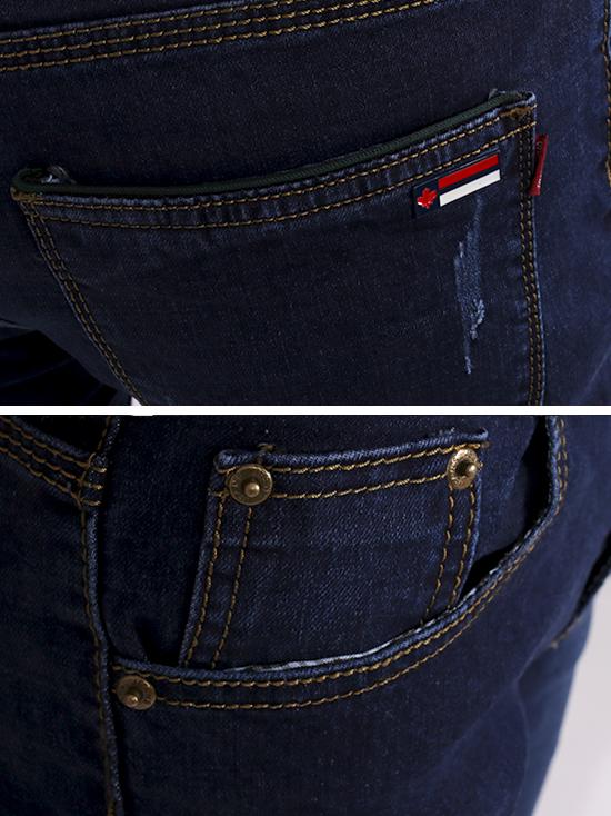 Quần jean skinny xanh đen qj1266 - 3