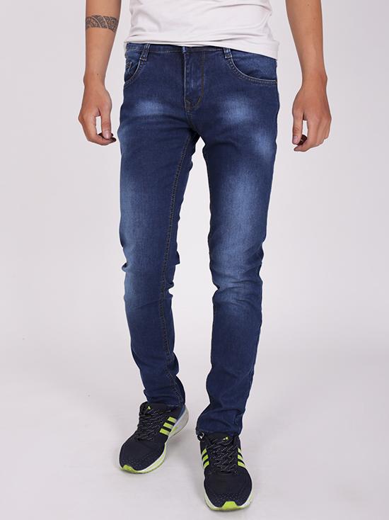 Quần jean skinny xanh dương đậm qj1255 - 1