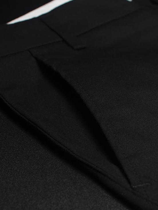 Quần kaki hàn quốc đen qk140 - 2