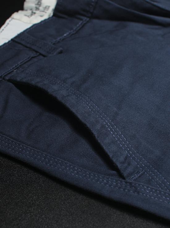 Quần short kaki xanh dương đậm qs53 - 2