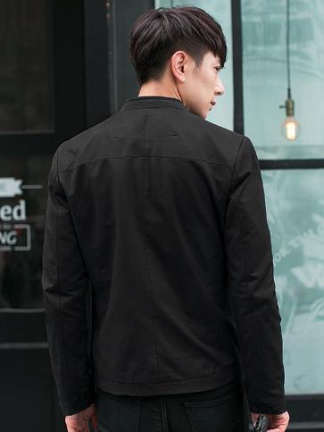 Áo khoác kaki đen ak173 - 2