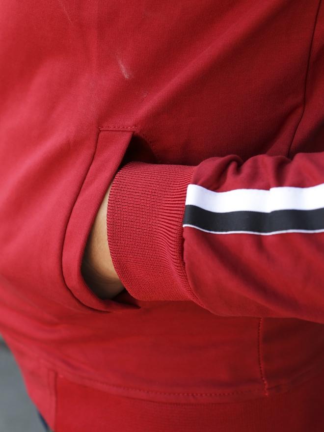 Áo Khoác Nỉ Đỏ AK174