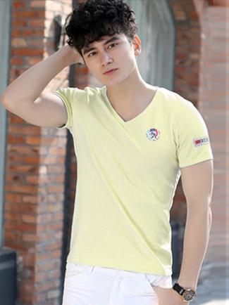 Ao Thun Co Tim Vang Nhat AT572