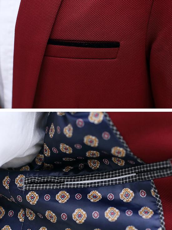 Áo vest cao cấp đỏ đô av1083 - 2